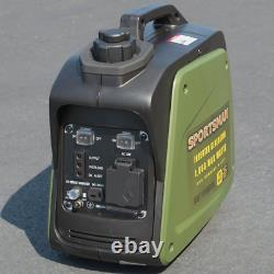 1,000/800-Watt Gasoline Powered Digital Inverter Generator