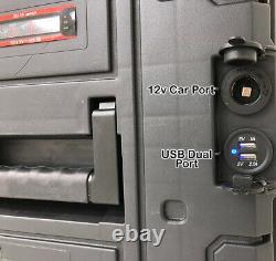 1000W Portable Solar Generator Lithium+150 Watt Panel 110v Pure Sine Inverter