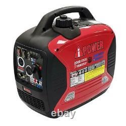 2,000 Watt Dual Fuel Gasoline Propane Inverter Generator Recoil Start SUA2000ID