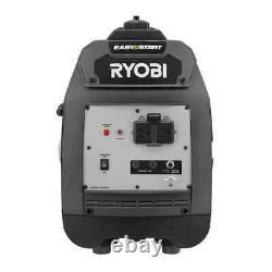 2,000-Watt Gray Gasoline Powered Digital Inverter Generator by RYOBI