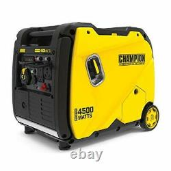 200986 4500-Watt Portable Inverter Generator, 4500-Watt + Gas + Manual Start