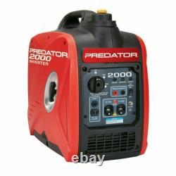 2Predator 2000 Watt Gas Generator Quiet Portable Power Inverter