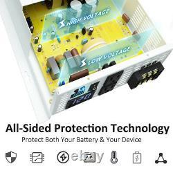 4000 Watt Pure Sine Wave Inverter 12V to 120V Solar Home System Power Generator