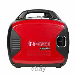 A-iPower SUA2000i Super Quiet 1600-Watt Portable Digital Inverter Gas Generator