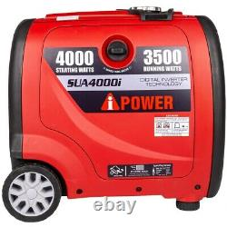 A-iPower SUA4000i 3500 Watt Portable Inverter Generator (CARB)