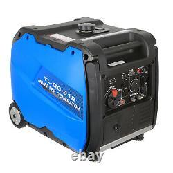 BILT HARD 4000 Watt Portable Quiet Inverter Generator Gas RV Trip, Electric Start