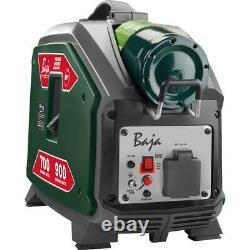 Baja Inverter Generator 900-Watt Muffler Overload Protection Propane Powered