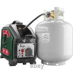 Baja Propane Powered Inverter Generator 900-Watt Overload Protection