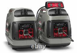 Briggs & Stratton P2200 PowerSmart Series 2,200 Watt Inverter Portable Generator