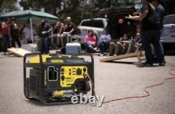 CHAMPION 4000-Watt RV Ready Generator Quiet Technology Mobile Kit DIGITAL HYBRID