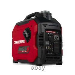 CRAFTSMAN 2500i Portable Inverter Generator CMXGIAC2500 2200 Watts Continuous