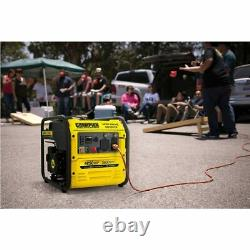Champion 200955 3500 Watt RV-Ready Open Frame Inverter Generator with Quiet T