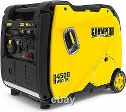 Champion 4,500-Watt Super Quiet Portable RV Ready Gas Powered Inverter Generator