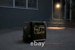 Champion 4500 Watt Inverter Generator Light Portable Quiet Wheels + Remote Start
