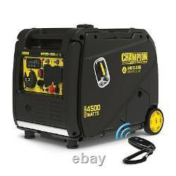 Champion 4500-Watt Portable Inverter Generator with Wireless Remote Start