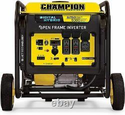 Champion 6250-Watt DH Series Open Frame Inverter Quiet Technology 12.5 Hours Gas