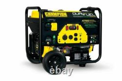 Champion 76533 3800 Watt Electric Start Dual Fuel Portable Generator
