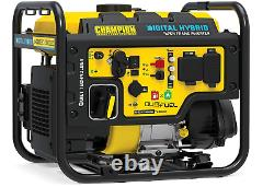 Champion Dual-Fuel Inverter 100574 3500 Watt DH Series RV-Ready Open Frame NEW