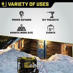 Champion Power Equipment 100520 8750-Watt DH Series Open Frame YellowithBlack
