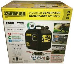 Champion Power Equipment 2000 Watt Portable Inverter Generator ULTRA LIGHT