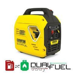 Champion Power Equipment 2000 Watt Portable Inverter Generator Ultralight 100900