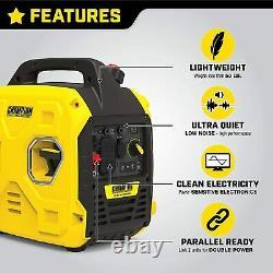 Champion Power Equipment 200951 2500-Watt Portable Inverter Generator, Ultralight