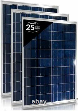 Complete Kit 1500W Inverter + 300 Watt Solar Panel RV Boat Off Grid Generator