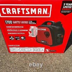 Craftsman 2200i CMXGIAC2200 1700 Watts Portable Inverter Generator