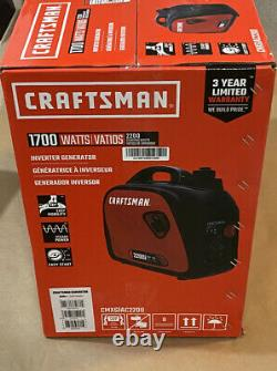Craftsman 2200i Watts Portable Inverter Generator SEALED