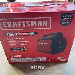 Craftsman CMXGIAC3000 2300 Watts Portable Ultra Quiet Inverter Generator