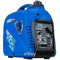 DuroMax XP2200EH 2,200 Watt 4.5HP Dual Fuel Portable Digital Inverter Generator
