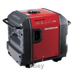 EU3000is 3000-Watt Gasoline Portable Inverter Generator