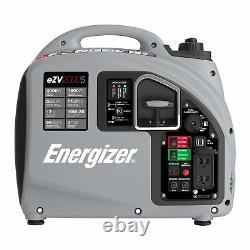 Energizer eZV2000S Portable Inverter Generator, 2000 Watt NEW