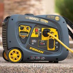 Firman W03381 Whisper Series Inverter Generator, 3300 Running Watts