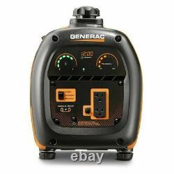 Generac 2,000-Watt Quiet Portable Gas Powered Inverter Generator Home RV Camping
