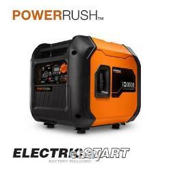 Generac iQ3500 3500 Watt Portable Inverter Generator, 50 State/CSA