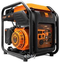 Generator Inverter Portable Quiet CARB Compliant Open Frame RV-Ready 4000-Watt