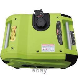 Green-Power 4,500 Watt Gasoline Powered Inverter Generator Recoil Start