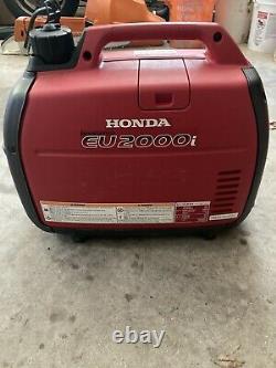 HONDA EU2000i 2000 WATT PORTABLE GENERATOR With Inverter (Needs Carb Work)
