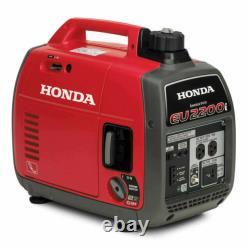 Honda 2,200-Watt Super Quiet Gasoline Powered Portable Inverter Generator