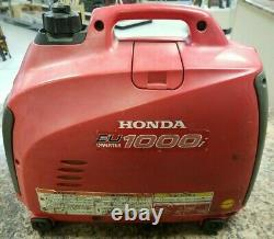 Honda EU1000i 1000 Watt 1.8 HP Generator Inverter