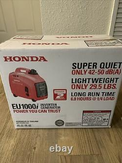 Honda EU1000i 1000 Watt Portable Inverter Generator with Co-minder