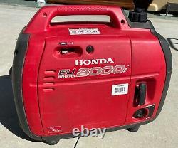 Honda EU2000iA 2000 Watt 3.5 HP Generator