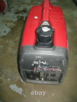 Honda EU2200i 2200-Watt 120-Volt Super Quiet Portable Inverter Generator
