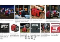 Honda EU2200i COMPANION 2200 Watt Inverter Generator Portable Super Quiet