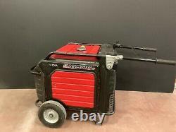 Honda EU6500iS Inverter Generator 6500 watt (used)