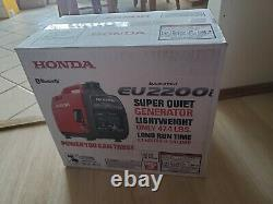 Honda Eu2200i Generator Inverter quiet 2200 Watt portable original sealed