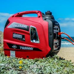 Inverter Generator 2000 Watt Super Quiet Portable Gas Power Residential Home Use