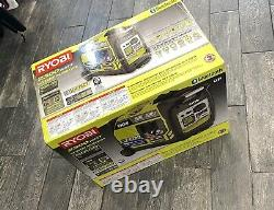 NEW Ryobi 2300 Watt Digital Inverter Generator Portable SUPER QUIET BLUETOOTH