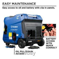 NEW Westinghouse iGen4500 4500 Watts Super Quiet Inverter Generator Remote START